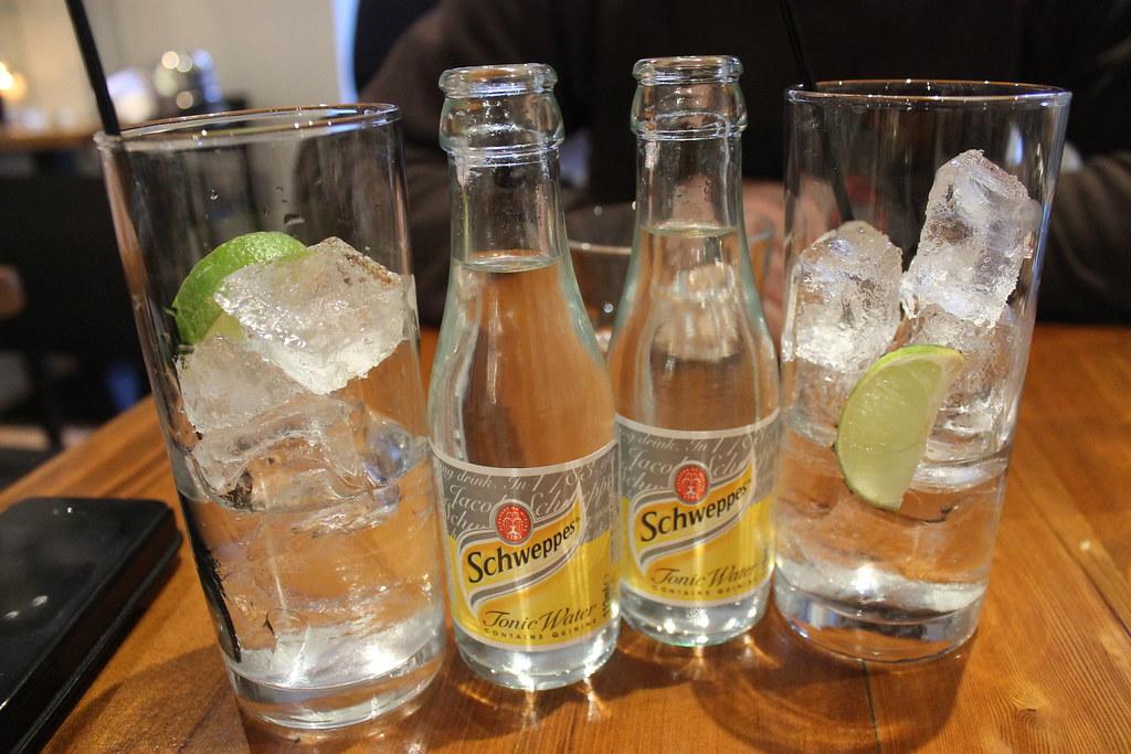 Gin tonics en Belfast