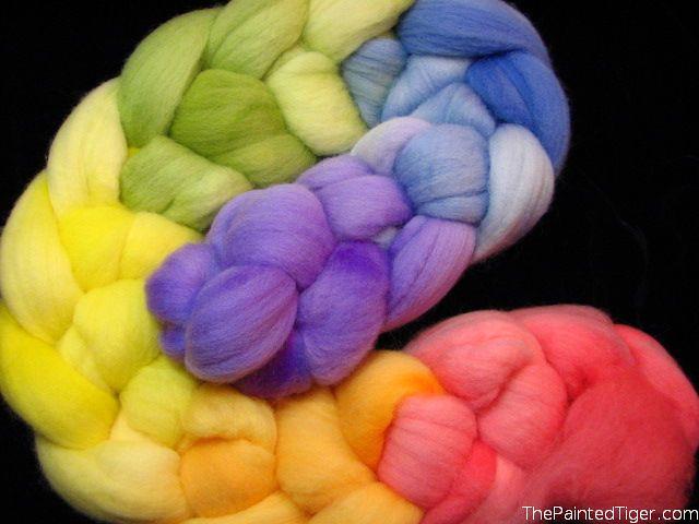 Pastel Rainbow Targhee