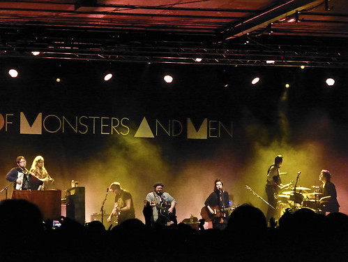 Of Monsters & Men performing at Manchester Academy gig