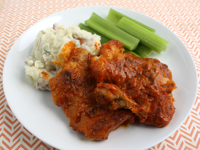 My Kids Ate It: Buffalo Chicken Thighs with Buttermilk ...