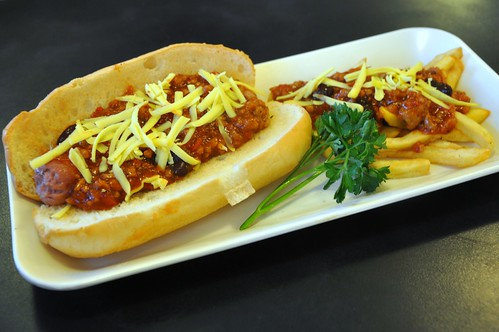 Sloppy Joe Hotdog