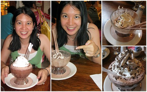 frrrrrrrozen hot chocolate at Serendipity III