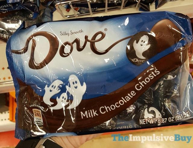 Dove Milk Chocolate Ghosts