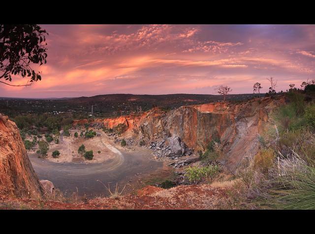 Statham's Quarry, Darling Range , Western Australia