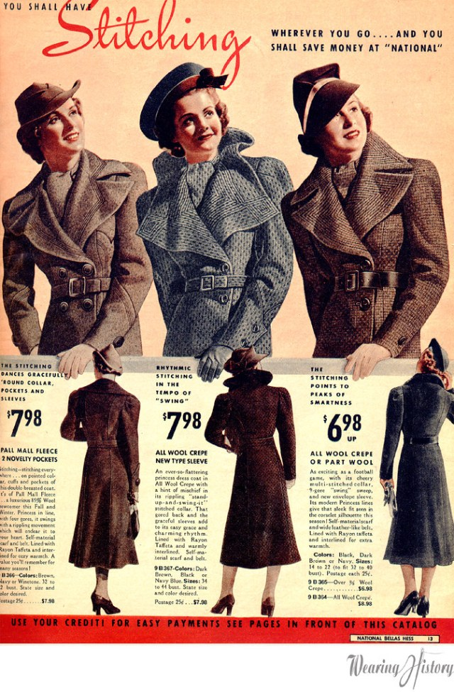 National Bellas Hess- Fall and Winter 1937-1938