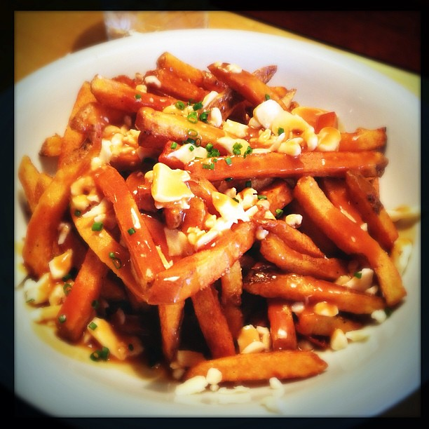 Poutine: happy birthday to me!