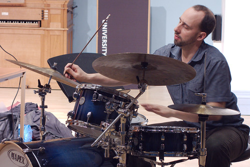 Harris Eisenstadt Trio with Alexander Hawkins, John Edwards @ Leeds University, 8.2.13