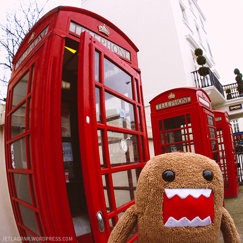 domo and london phonebox