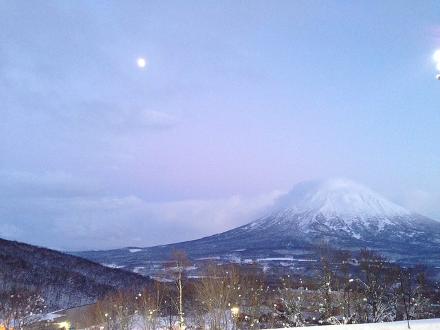Dusk Falls over Mt Yotei