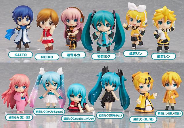 Nendoroid Petite: Hatsune Miku Selection