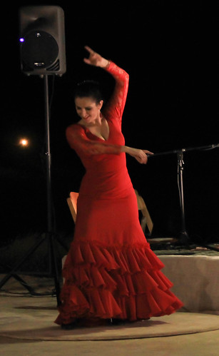 Flamenco dancer Yael Tuchfeld
