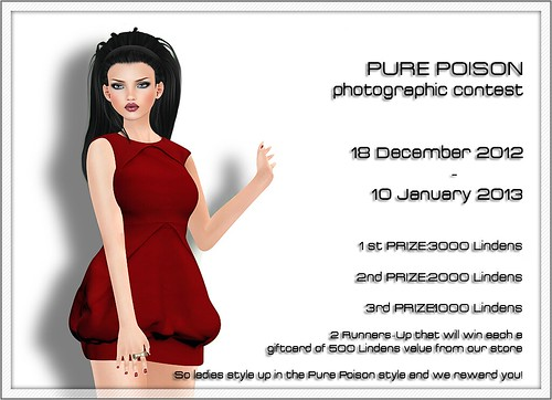 Pure Poison Contest-Ends on 10 January