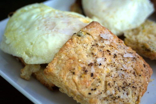 Eggs and biscuits