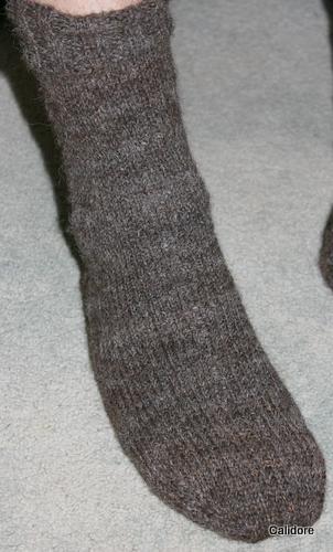 Hand Spun Hand knitted Socks