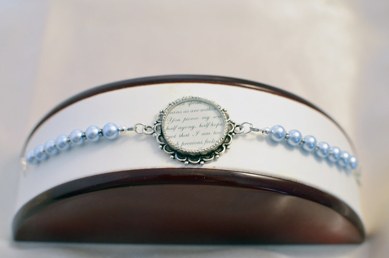 Captain Wentworth Love Letter Bracelet By Ciarrai Studios