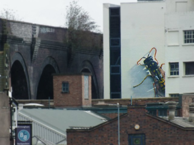 Graffiti at The Custard Factory, Birmingham