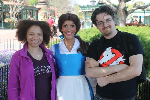 Me, Belle, and Adam