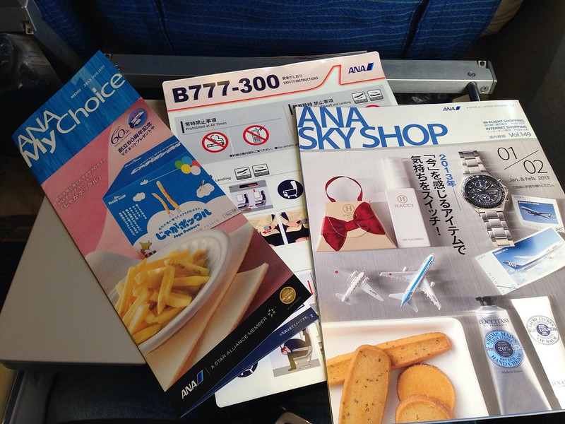 Safety Information, Menu and Inflight Catalogue