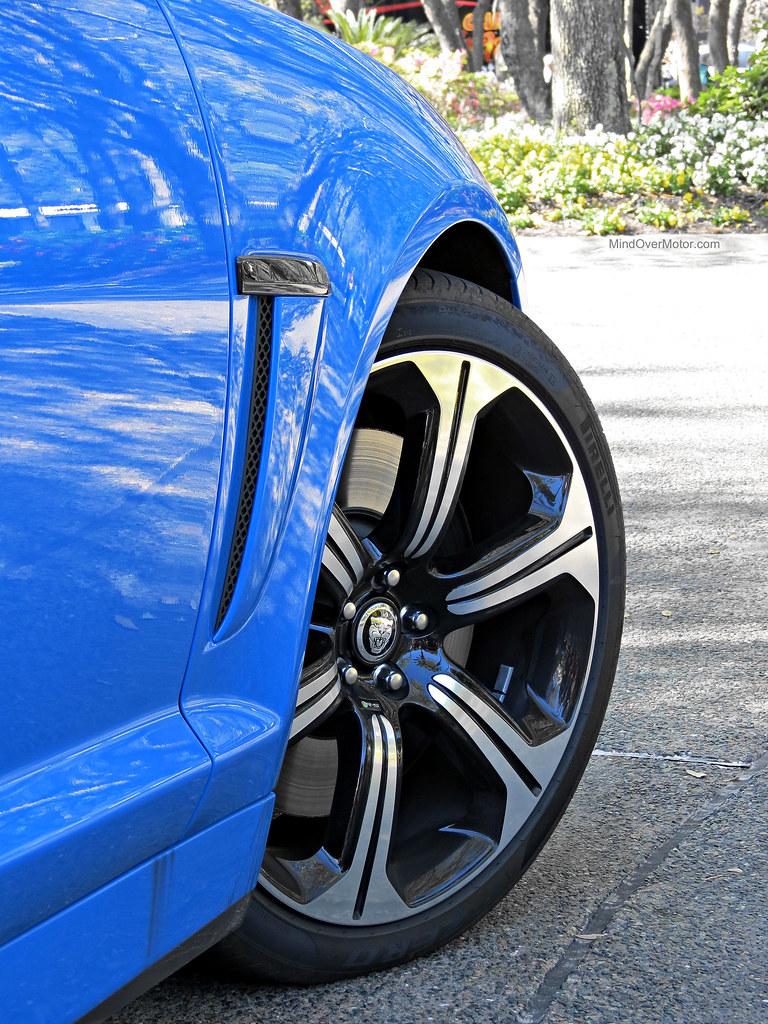 Jaguar XFR-S Wheel