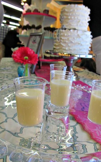 Milk shots