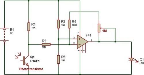 741-and-photo-transistor