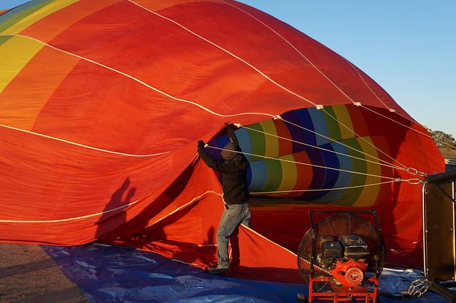 Grape Escape! Hot Air Balloon Ride