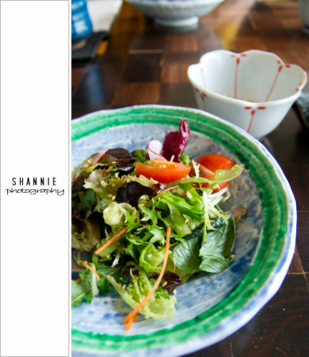Salad at Aoki 青木