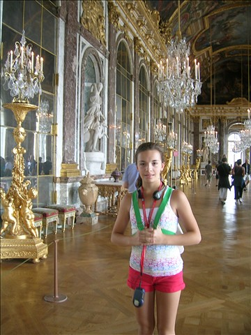 Hall of Mirrors-Versailles
