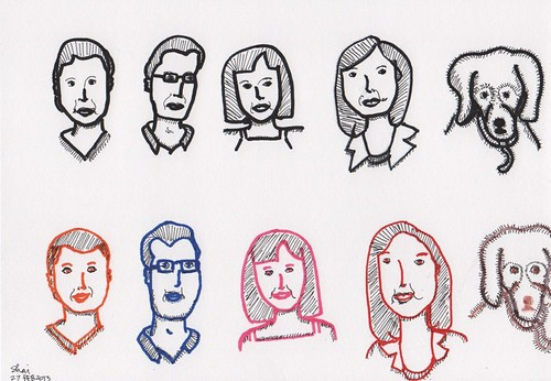 Faces 101: Day 2 (Drawing)