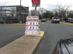 Price of gas at Costco on Feb. 28, 2013