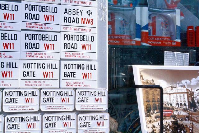 Notting Hill portobello magnets