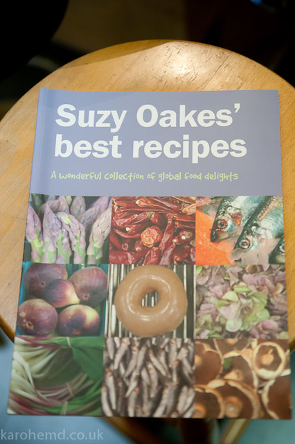 The recipes of Suzy Oakes