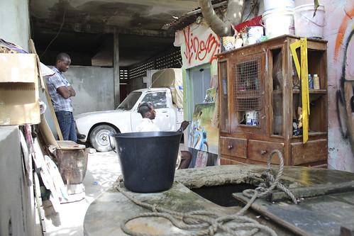 Artist Sincelor in Studio. Cotonou Benin by Jujufilms