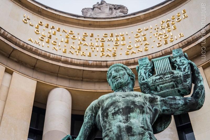 Bouchard's statue - Palais de Chaillot
