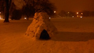 Fun things happen on snowy walk (2/3)