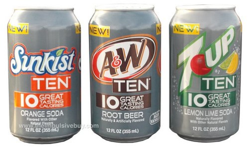 7 Up Ten, A&W Root Beer Ten, Sunkist Ten