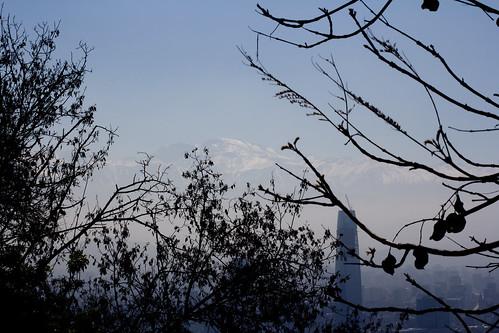 Vistas desde el Cerro San Cristobal