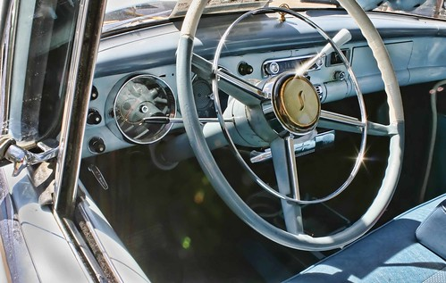 Studebaker interior. Copyright Jen Baker/Liberty Images; all rights reserved.