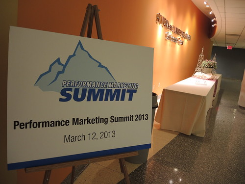 Performance Marketing Summit 2013 at Baruch College