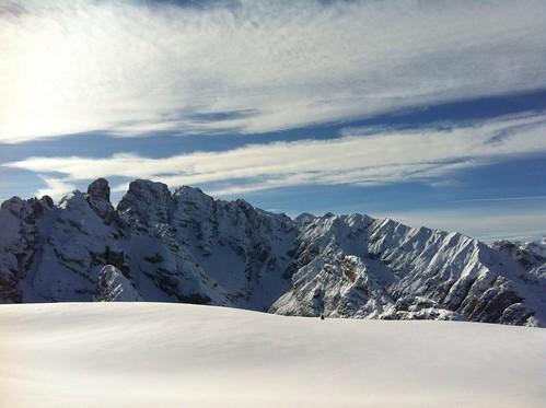 Monte Piano, Gipfelblick