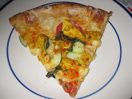 Thai Dye Pizza from Mellow Mushroom