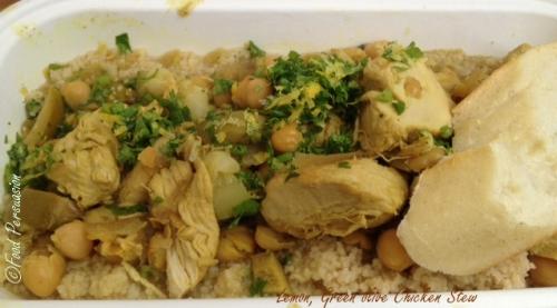 Lemon Olive Chicken Stew @EatZeBite Street Food City Vancouver