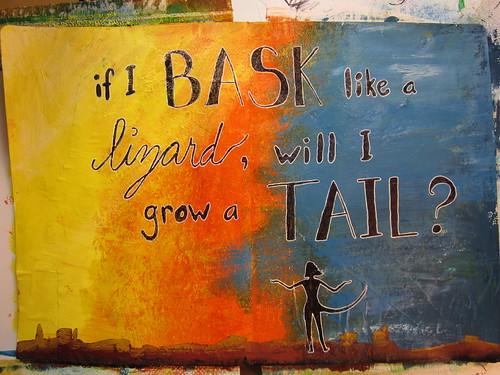 Bask Like A Lizard