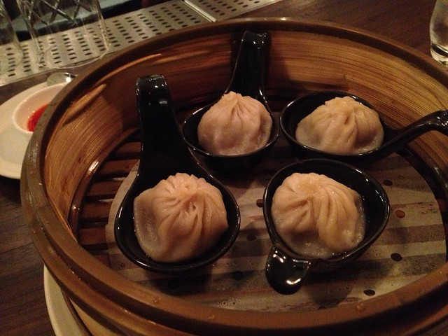 Wild boar juicy dumplings - M.Y. China