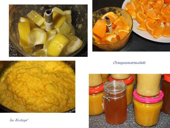 Orangen- und Zitronenmarmelade