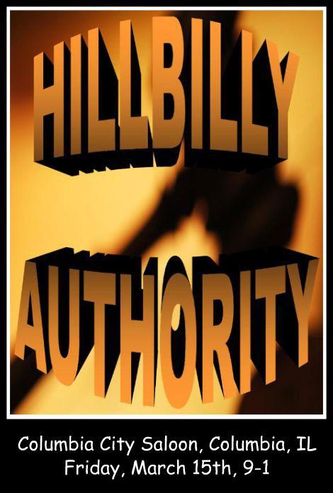 Hillbilly Authority 3-15-13