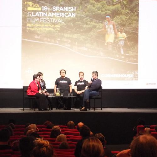 Alfonso Sánchez, Alberto López and Álvaro Alonso