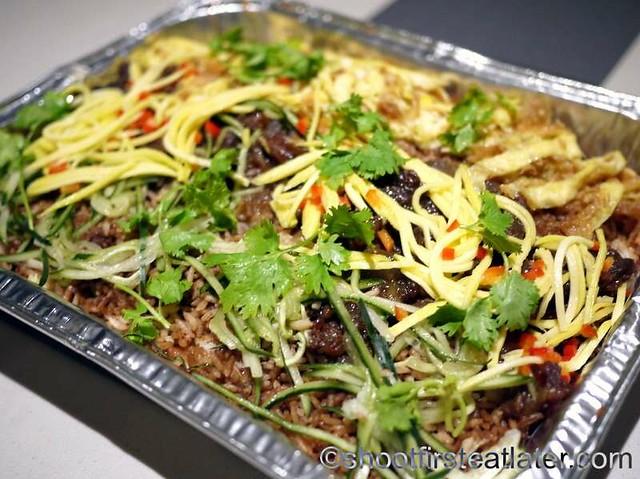 Deli San Honore- bagoong rice