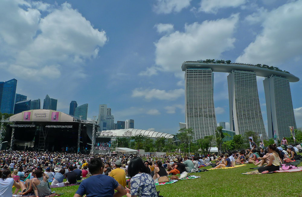 Laneway Festival - Marina Bay Sands