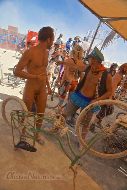 naturist 0007 Burning Man 2012, Black Rock City, NV, USA
